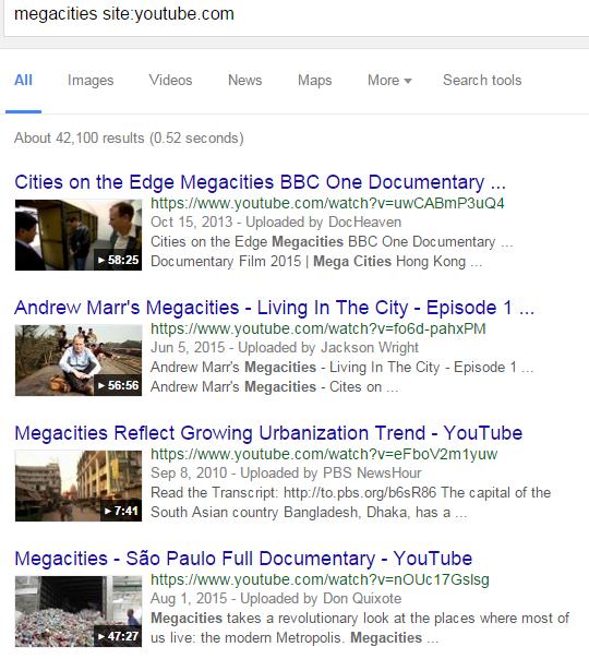 megacities 6